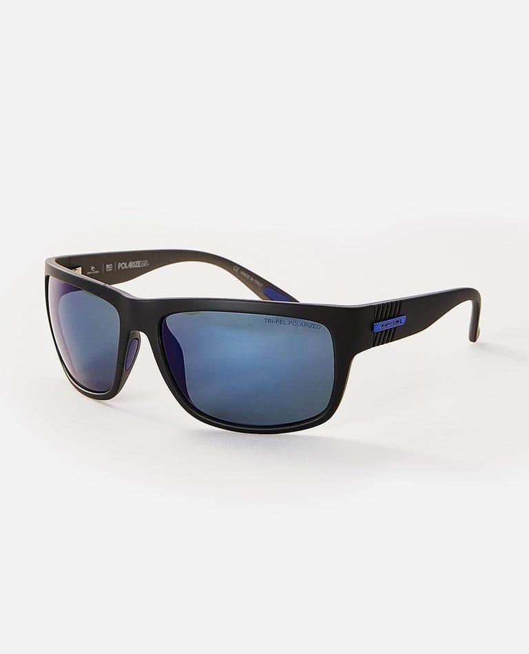 Century Tri-Pel Polarized Sunglasses in Black/Gun
