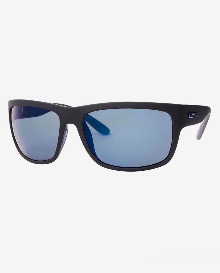 Glide Tri-Pel Polarized Sunglasses in Black/Gun