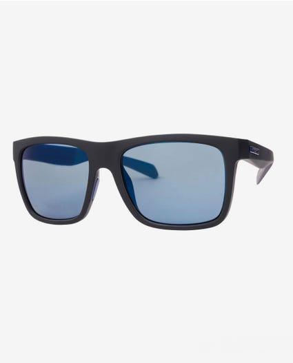 Dazed Tri-Pel Polarized Sunglasses in Black/Gun