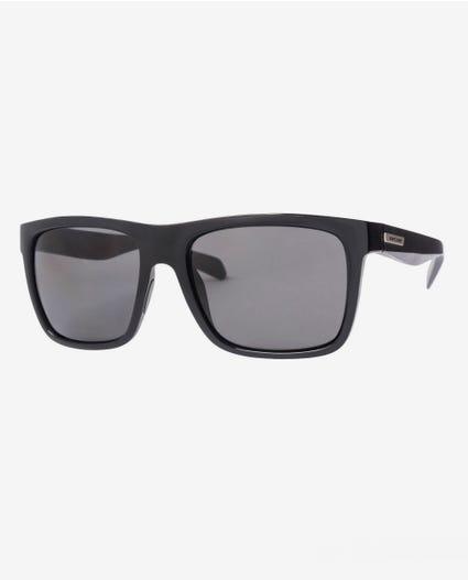 Dazed Polarized Sunglasses in Black