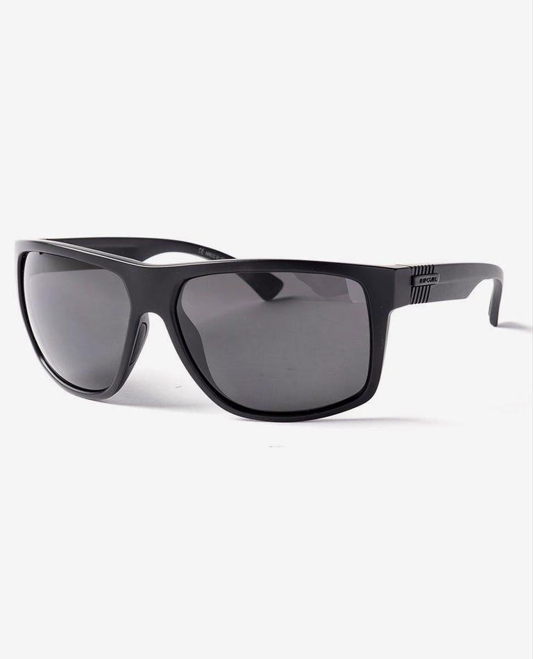 Stringer Polar Glass Sunglasses in Matt Black