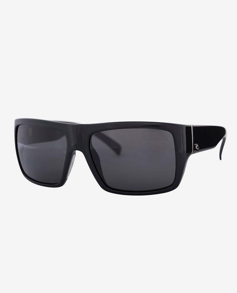 Raglan Polarized Sunglasses in Black