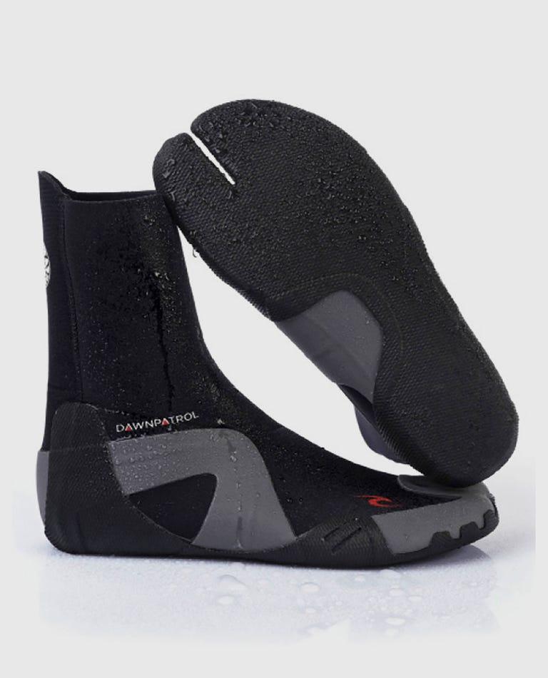 Dawn Patrol 3mm Split Toe Booties in Black