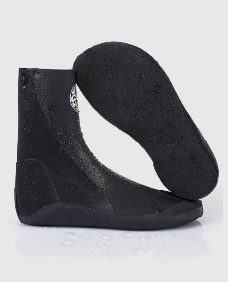 Rubber Soul Plus 3mm Split Toe Booties in Black