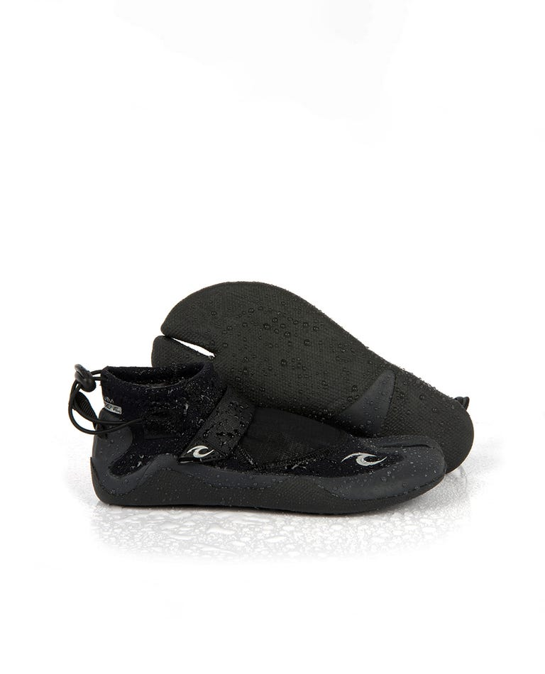 Reefer 1.5 Split Toe Booties in Black