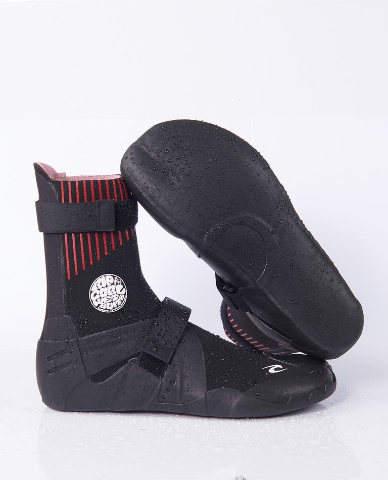 Flashbomb 3mm Narrow Seperate Toe Wetsuit Boot in Black