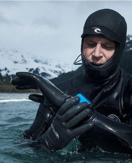 Rubber Soul 3mm Glove in Black