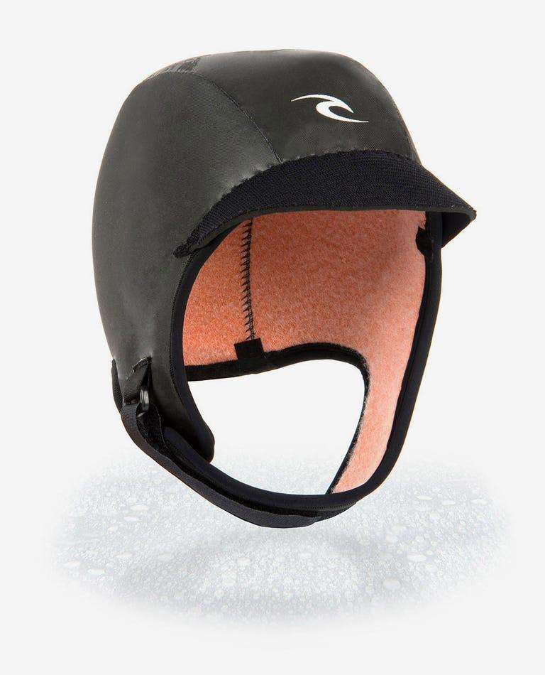 Flashbomb 3mm Surf Cap in Black