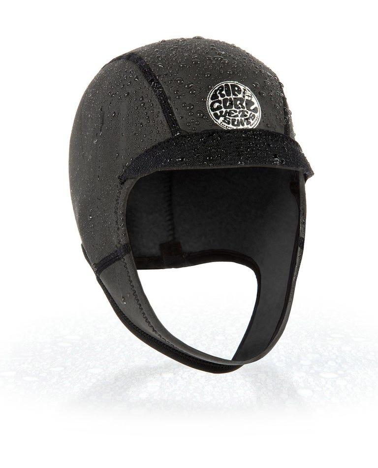 Dawn Patrol Hood in Black