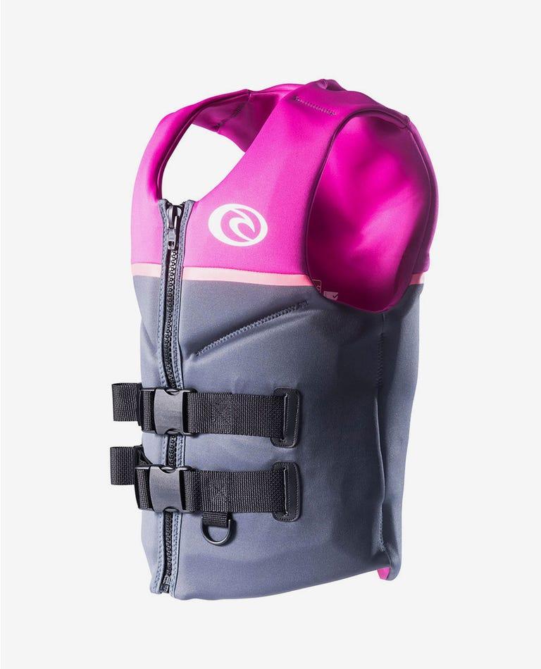 Womens Omega Buoyancy Vest in Purple