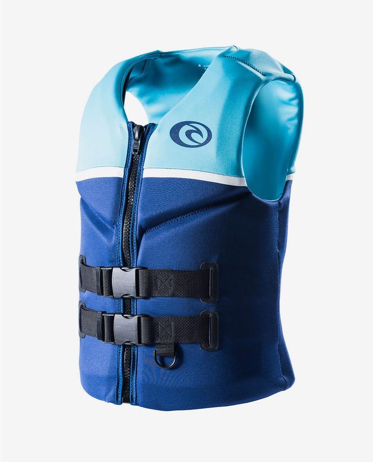 Womens Omega Buoyancy Vest in Blue