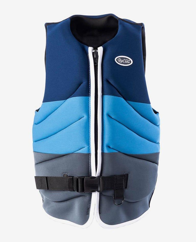 Dawn Patrol Buoy Vest in Blue