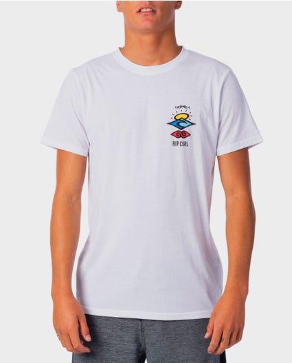 Search Logo Short Sleeve UV Tee in Black