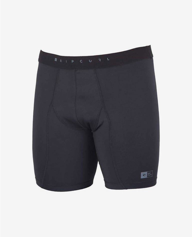 Aggroskin Surf Wetsuit Short in Black