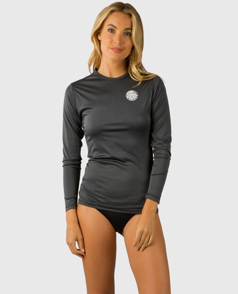 Crafted in The USA Fits Like a Tee Shirt Relaxed Loose Fit Rash Guard
