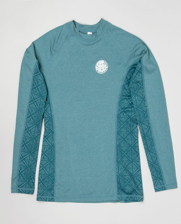 Trestles Long Sleeve Rash Guard in Dark Blue