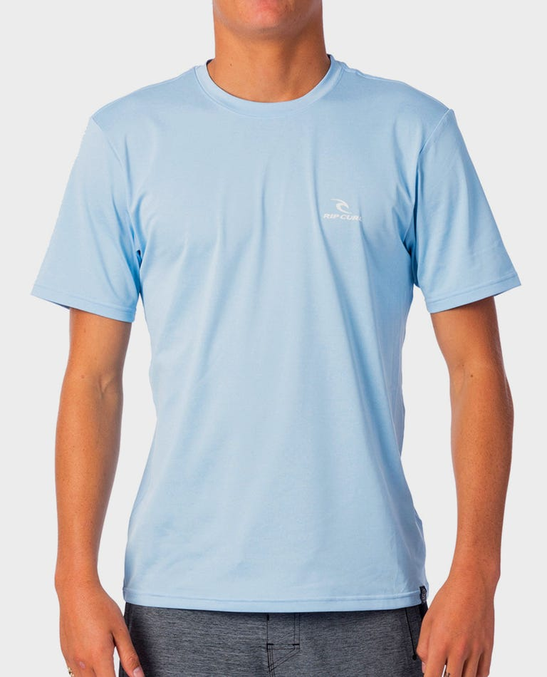 Search Series Short Sleeve Rash Guard in Blue
