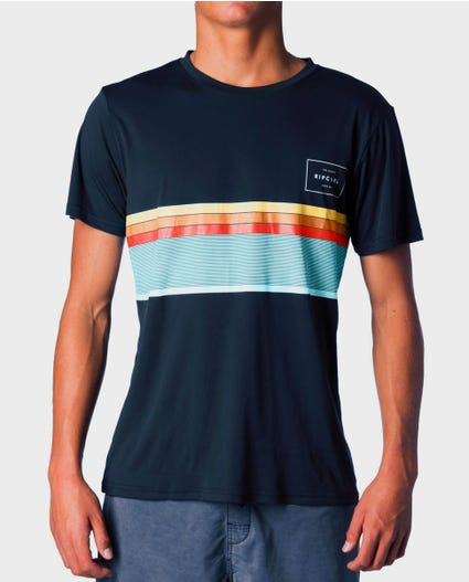 Rapture Surflite Loose Fit Rash Guard in Navy