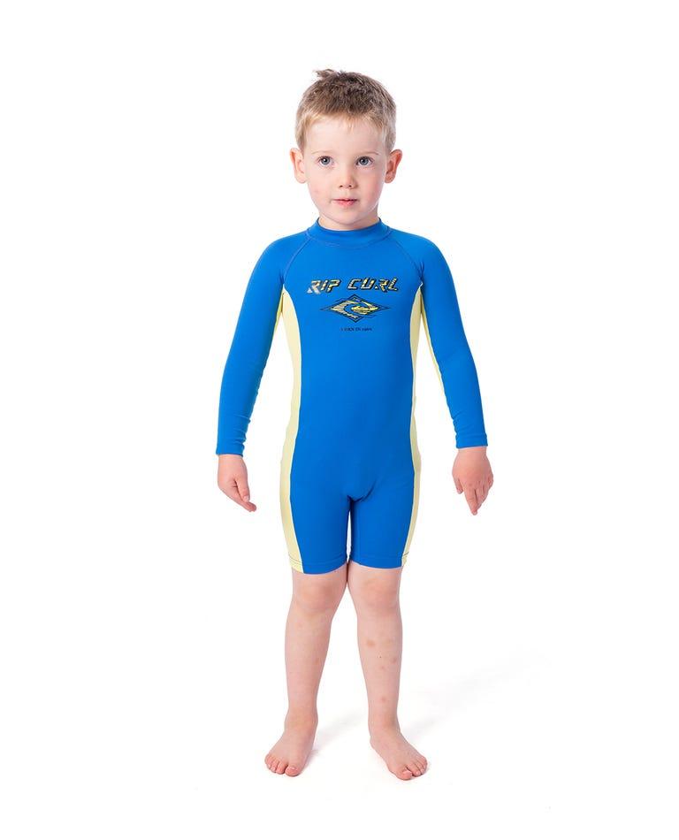 Groms Long Sleeve UV Spring Suit in Blue