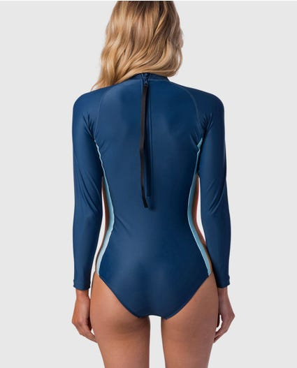G-Bomb Surf Revival UV Surfsuit in Stealth