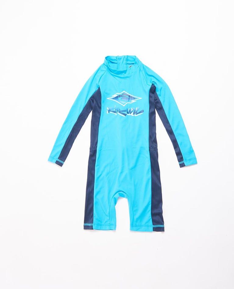 Long Sleeve UV Spring Suit Boys (0 - 6 years) in Blue