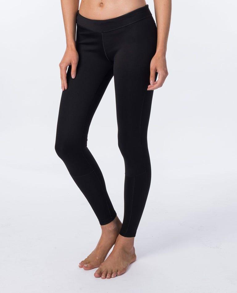Women's G-Bomb Long Pant 1Mm in Black