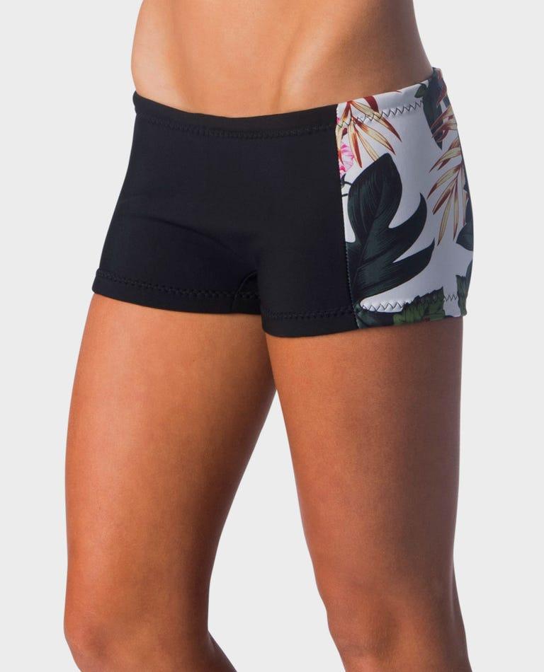 G-Bomb 1mm Boyleg Shorts in White