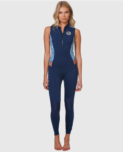 G Bomb 1.5mm Long Jane Wetsuit in Blue