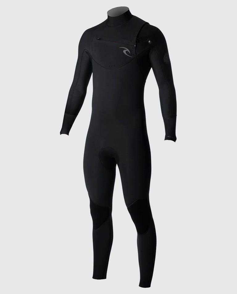 Dawn Patrol Chest Zip 4/3 Wetsuit in Black