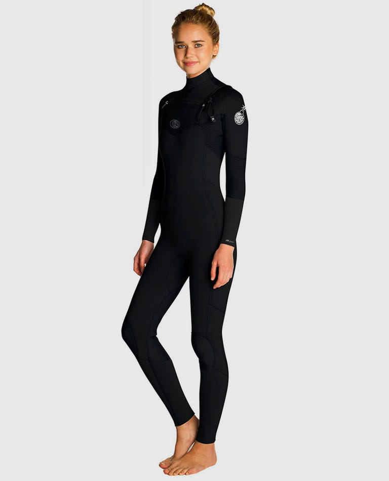 Womens Flashbomb 3/2 Wetsuit in Black