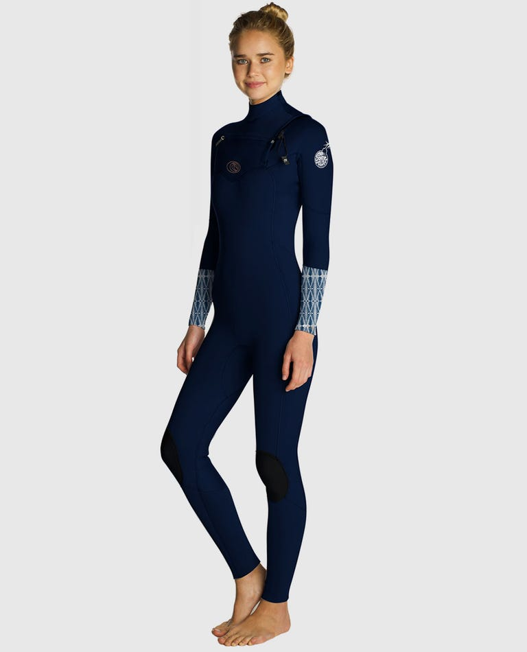 Womens Flashbomb 3/2 Wetsuit in Blue