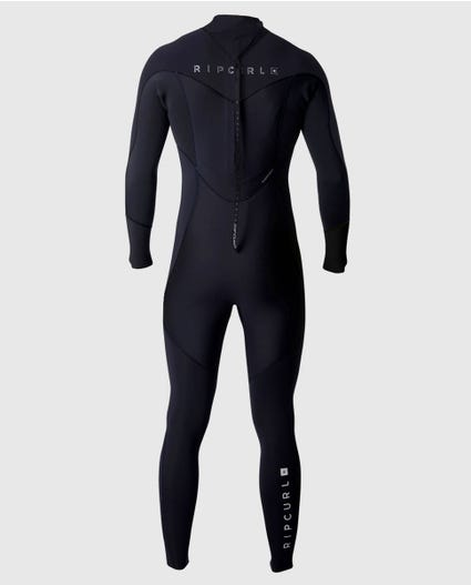 Dawn Patrol 5/3 Back Zip Wetsuit in Black
