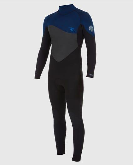 Mens Omega 3/2 Wetsuit in Black