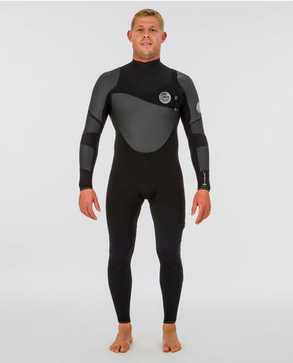 Flashbomb Heatseeker 3/2 Zip Free Wetsuit in Black