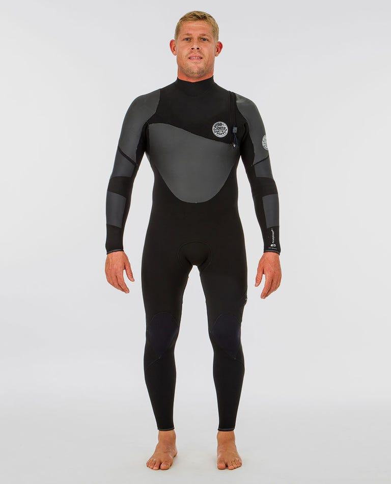 Flashbomb Heatseeker 3/2 Zip Free Wetsuit in Black
