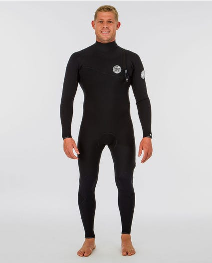 E-Bomb 3/2 Zip Free Wetsuit in Black