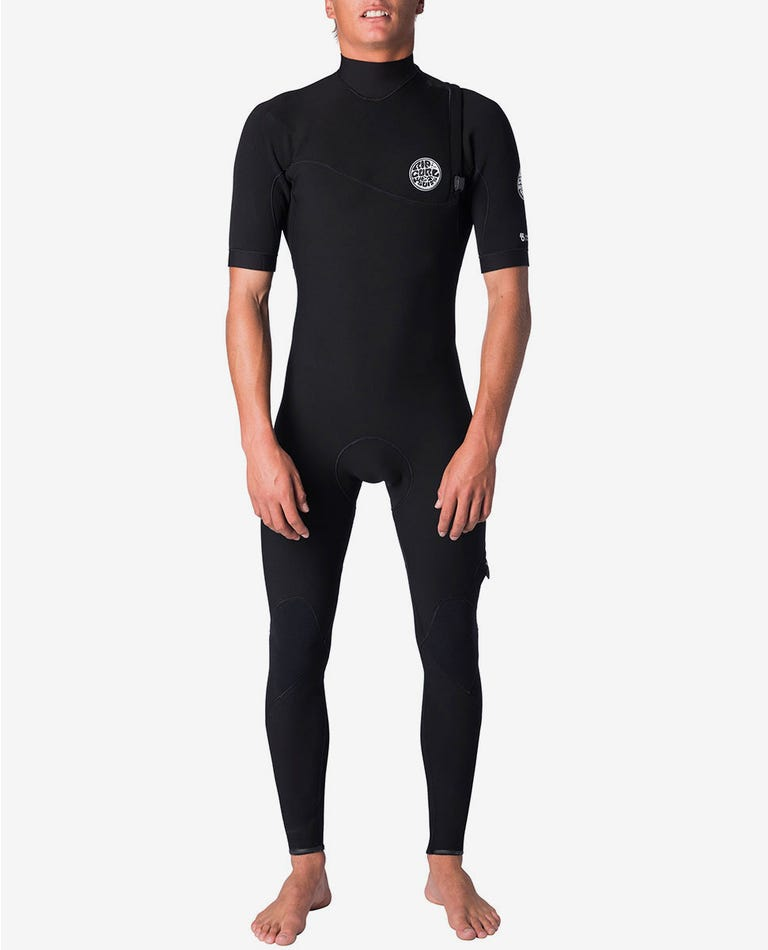 E-Bomb S/S Full Zip Free Wetsuit in Black