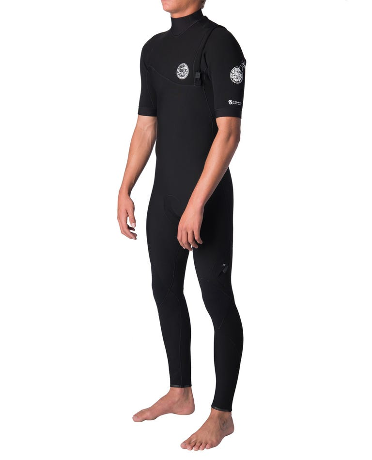 E-Bomb S/S Full Zip Free Wetsuit in Black