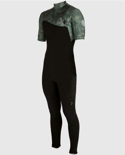 E-Bomb S/S Full Zip Free Wetsuit in Camo