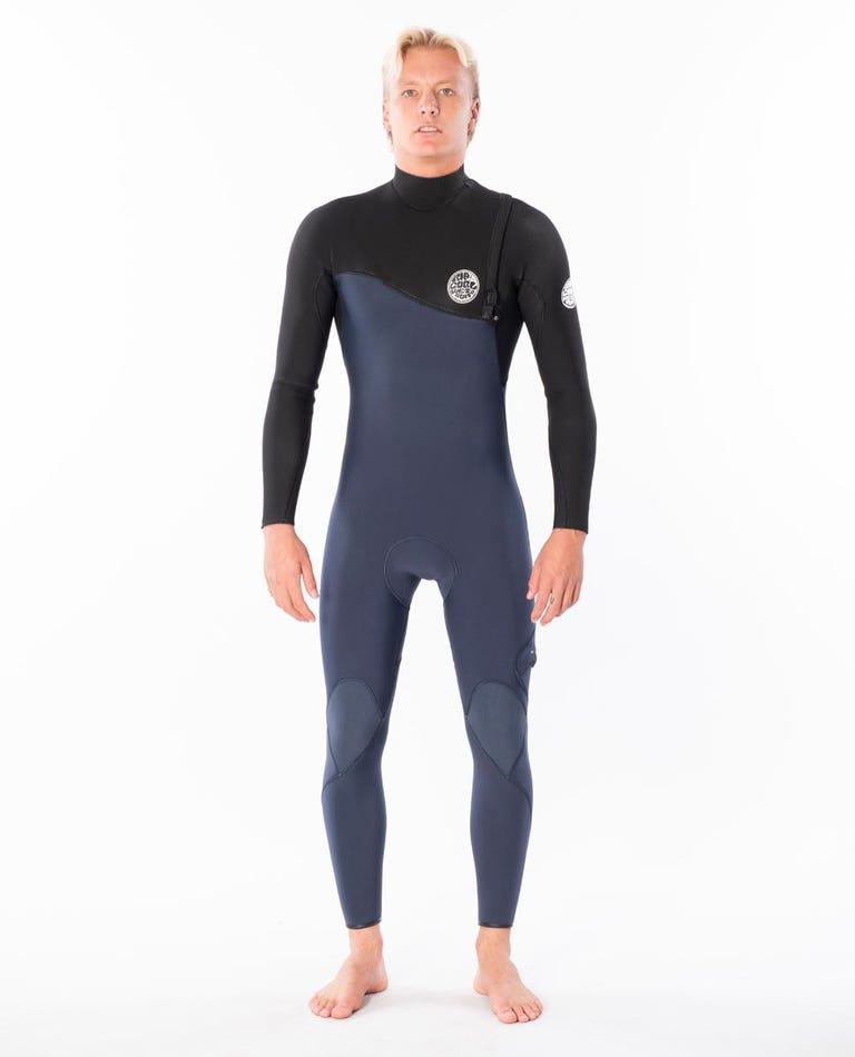 Flashbomb 3/2 Zip Free Wetsuit in Slate