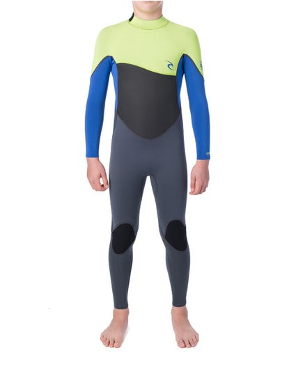 Junior Omega 4/3 Wetsuit in Blue