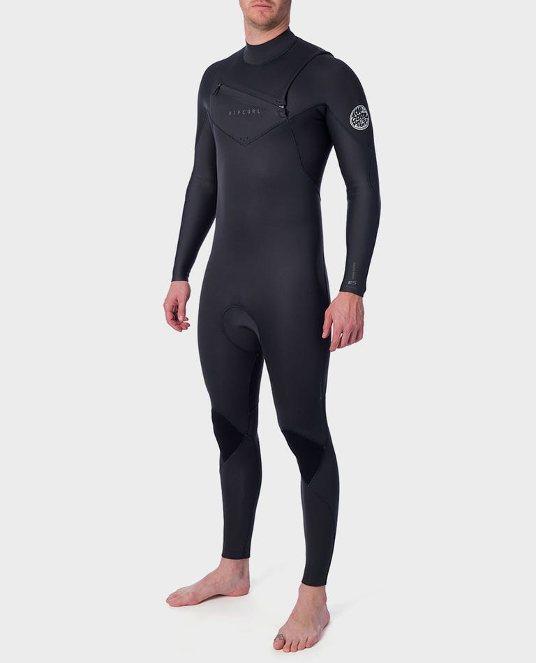 Dawn Patrol Performance 4/3 Chest Zip Wetsuit in Charcoal