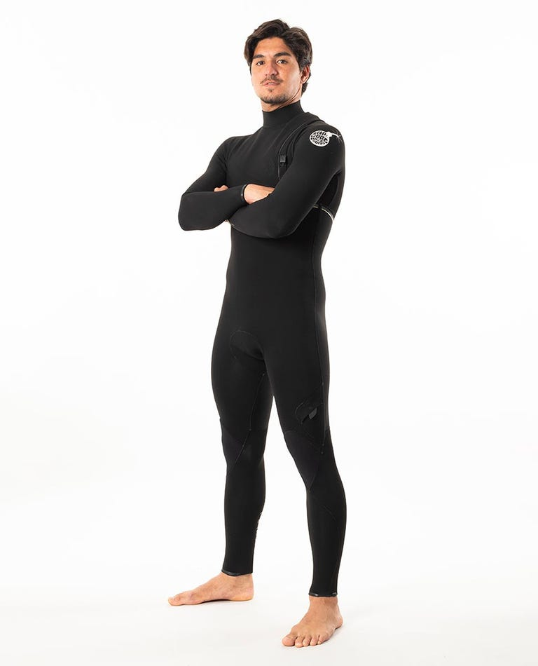 E-Bomb 4/3mm Zip Free Wetsuit Steamer in Black