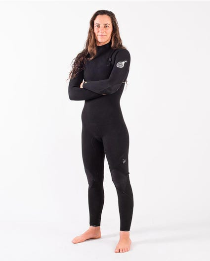 E-Bomb 3/2mm Zip Free Wetsuit Steamer in Black