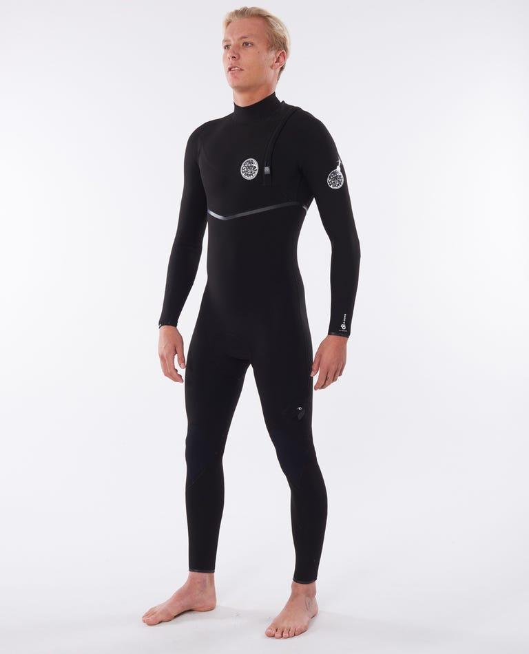 E-Bomb 2/2 Zip Free Wetsuit in Black
