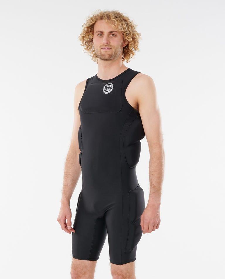 Big Wave Short John Wetsuit in Black