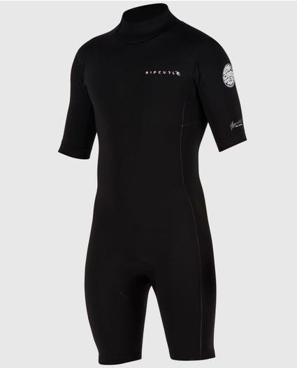Aggrolite S/S Springsuit in Black