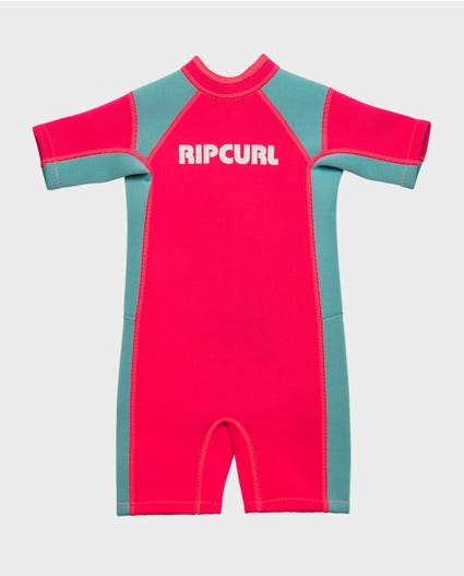 Boys Dawn Patrol S/S Springsuit Wetsuit in Blue
