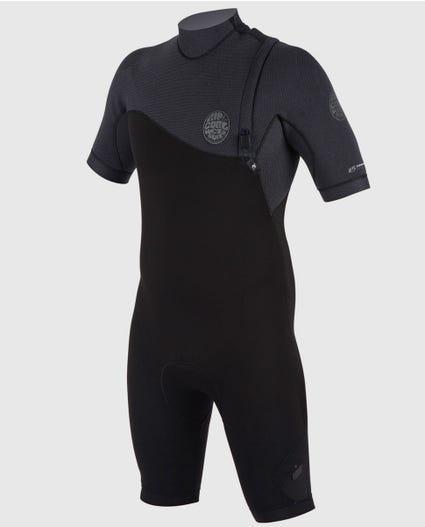 E-Bomb Pro Zip Free Springsuit in Black