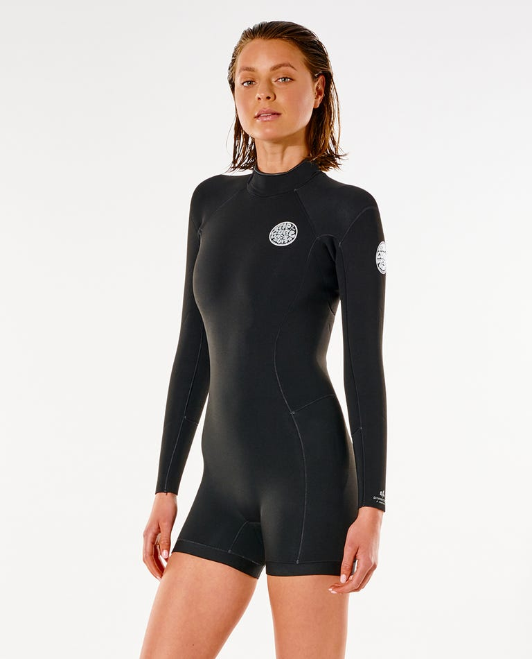 Dawn Patrol L/S Springsuit in Black